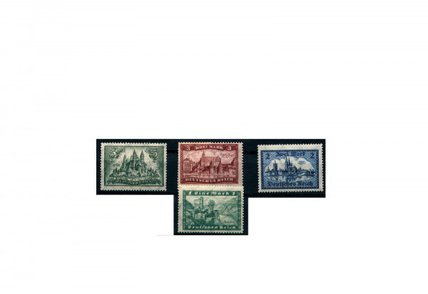 Briefmarken Deutsches Reich 1924 Michel Nr. 364/67 Falz