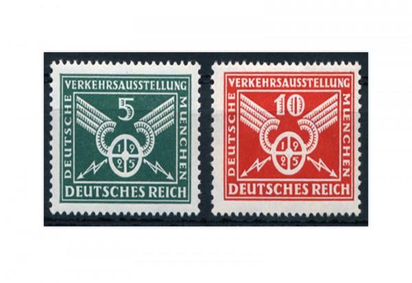 Briefmarken Deutsches Reich 1925 Michel-Nr. 370/71 Falz