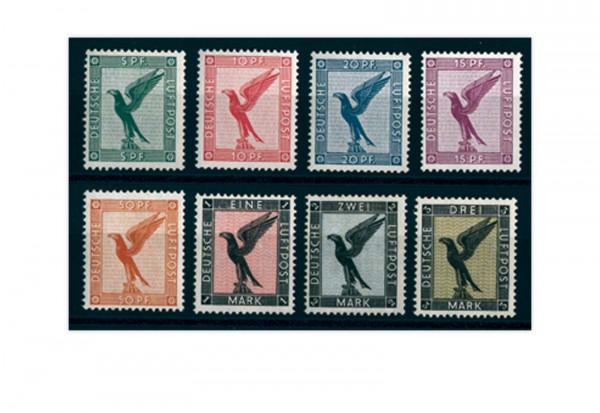 Briefmarken Deutsches Reich 1926 Michel-Nr. 378/84 Falz