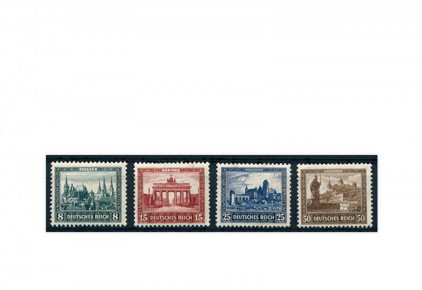Deutsches Reich Mi.Nr. 450/453 mit Falz