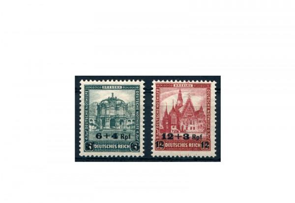 Briefmarken Deutsches Reich 1932 Michel-Nr. 463/464 Falz