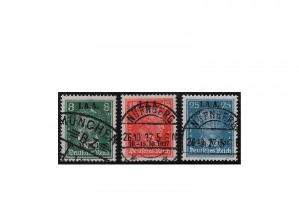 Deutsches Reich Mi.Nr. 407/409 gestempelt