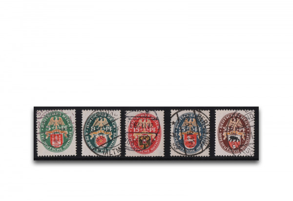 Deutsches Reich Mi.Nr. 425/429 gestempelt