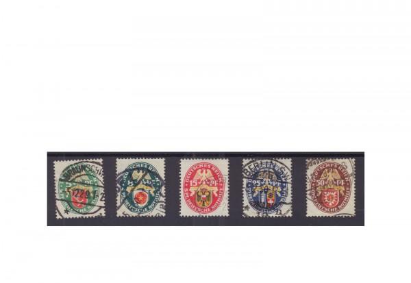 Deutsches Reich Mi.Nr. 430/434 gestempelt