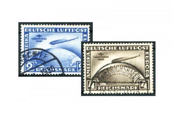 Deutsches Reich Flugpostmarken 1930 Mi.Nr. 438/439 gestempelt