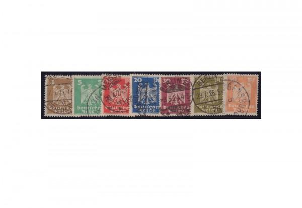 Deutsches Reich Mi.Nr. 355/361 gestempelt