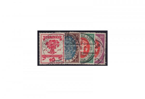 Deutsches Reich Mi.Nr. 107/110 gestempelt