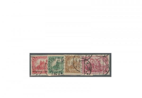 Deutsches Reich Mi.Nr. A 113/115 gestempelt