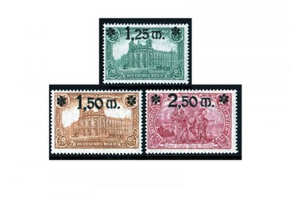 Deutsches Reich Michel 116 / 118 gestempelt