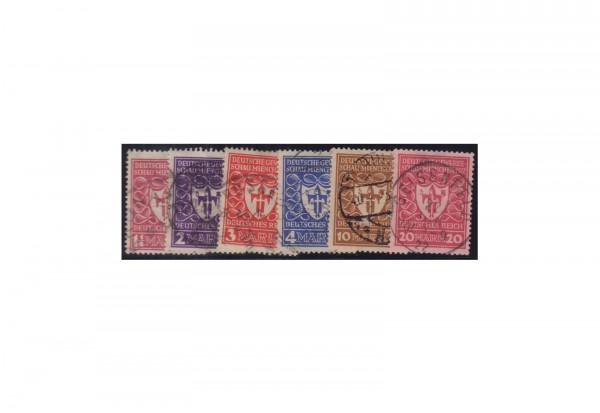 Deutsches Reich Mi.Nr. 199/204 gestempelt