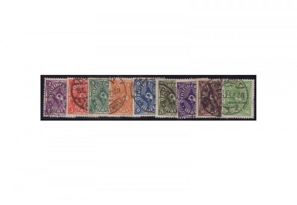 Deutsches Reich Mi.Nr. 224/232 gestempelt