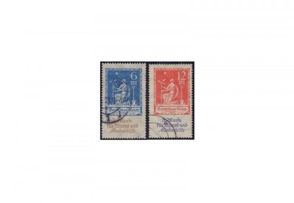 Deutsches Reich Mi.Nr. 233/234 gestempelt