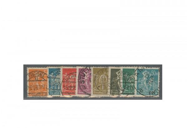 Deutsches Reich Mi.Nr. 238/245 gestempelt