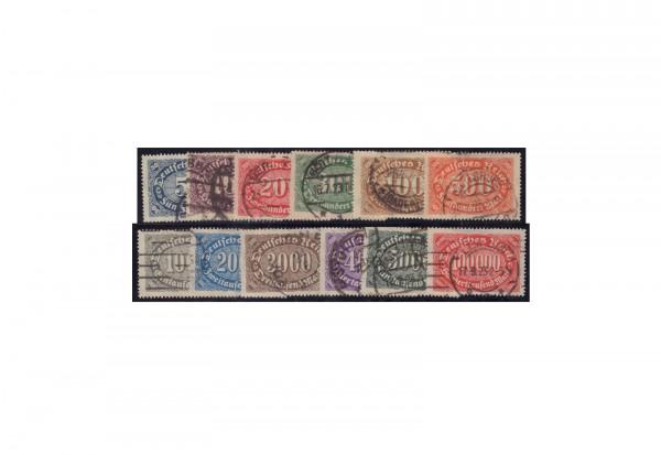 Deutsches Reich Mi.Nr. 246/257 gestempelt