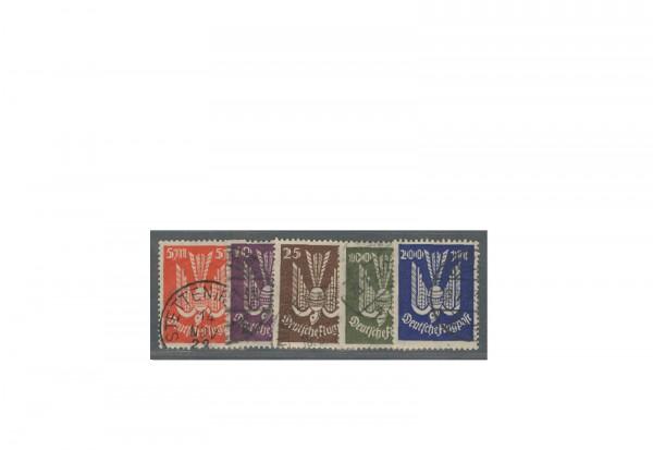 Deutsches Reich Mi.Nr. 263/267 gestempelt