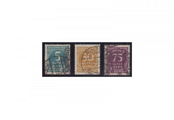 Deutsches Reich Mi.Nr. 274/276 gestempelt