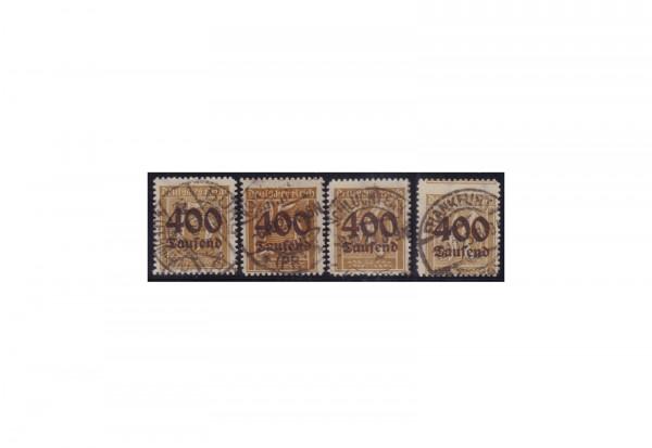 Deutsches Reich Michel 297 / 300 gestempelt