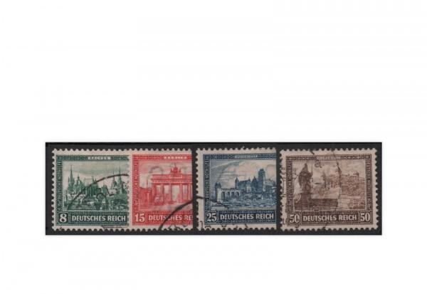 Deutsches Reich 1930 Michel-Nr. 446/449 gestempelt