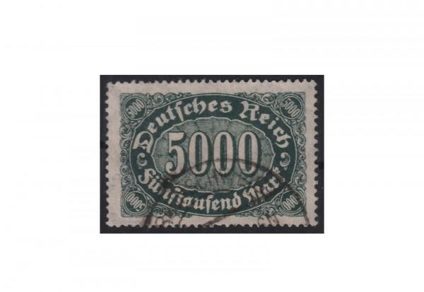 Deutsches Reich Michel-Nr. 256 c gestempelt geprüft
