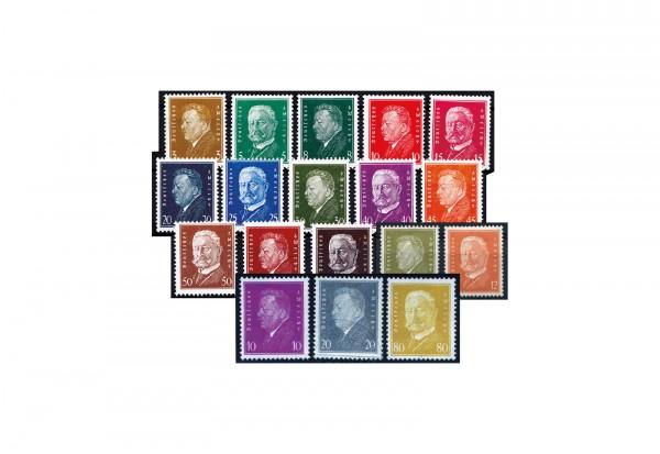 Deutsches Reich Reichspräsidenten 1928/1932 komplett postfrisch im Set