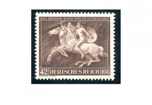 Briefmarke Deutsches Reich Galopprennen 1941 Michel-Nr. 780 postfrisch