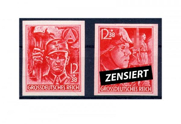 Briefmarken Deutsches Reich 1945 Michel-Nr. 909/10 U postfrisch