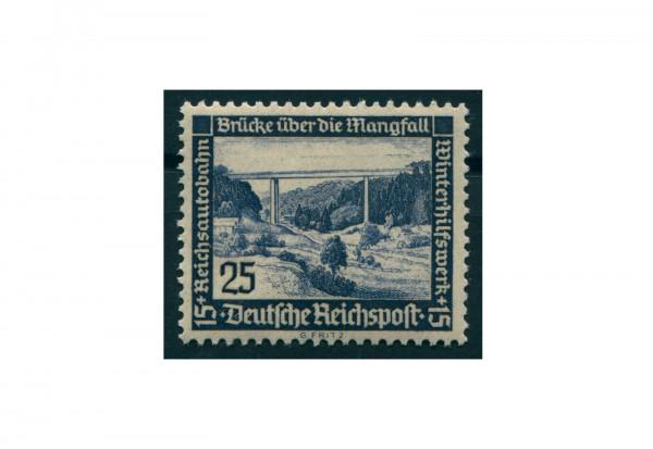 Briefmarke Drittes Reich 1936 Michel-Nr. 641 x senkrechte Riffelung postfrisch