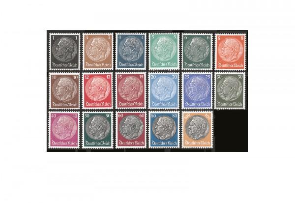 Briefmarken Paul v. Hindenburg Deutsches Reich Michel-Nr. 512/528 postfrisch