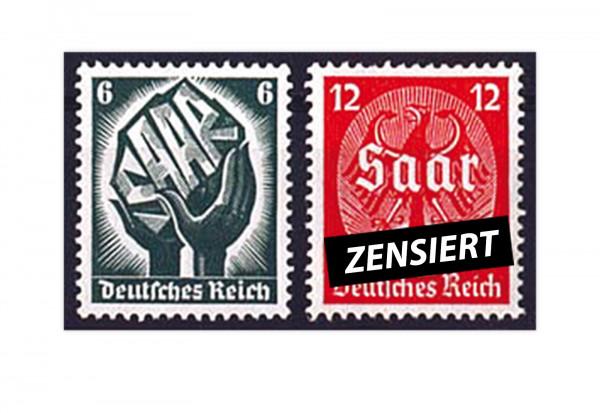 Briefmarken Deutsches Reich Kolonialpioniere Michel-Nr. 544/545 postfrisch