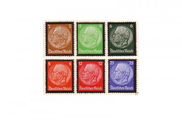 Deutsches Reich Mi.Nr. 548/553 postfrisch