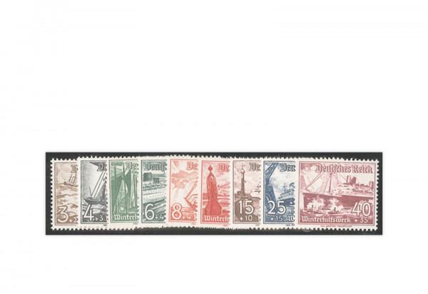 Briefmarken Deutsches Reich Mi. Nr. 651/59 postfrisch