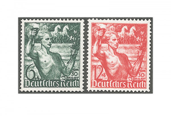 Deutsches Reich Mi.Nr. 660/661 **