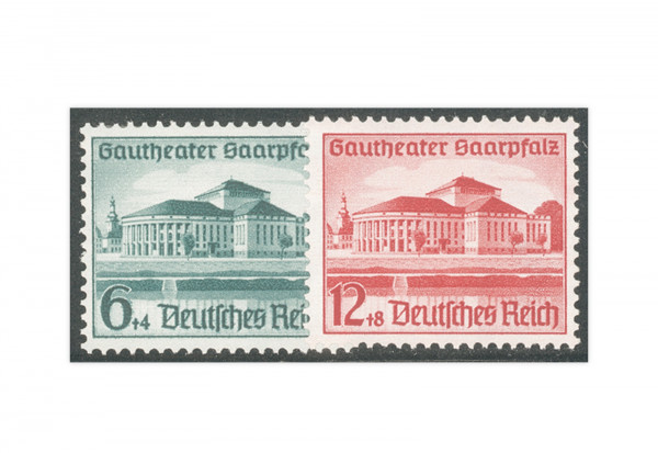 Deutsches Reich Mi.Nr. 673/674 postfrisch Gautheater Saar 1938