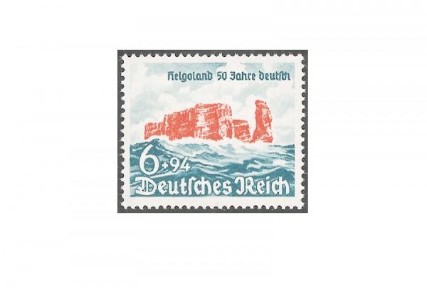 Briefmarke Deutsches Reich Helgoland 1940 Michel-Nr. 750 postfrisch
