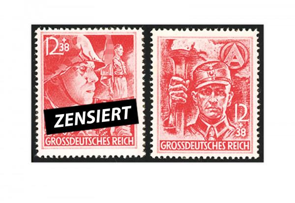 Briefmarken Deutsches Reich Michel-Nr. 909/910 postfrisch