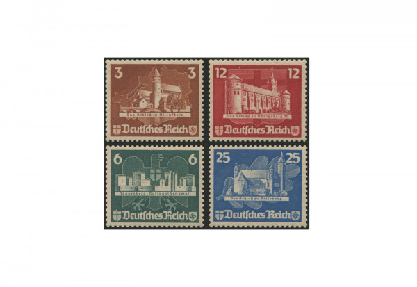 Deutsches Reich Mi.Nr. 576/579 Falz Einzelmarken aus Block 3