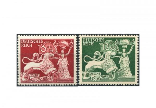 Deutsches Reich Mi.Nr. 816/17 ** 10 Jahre Goldschmiedekunst