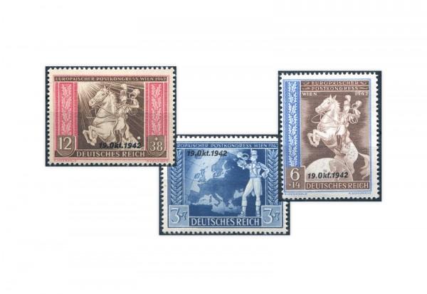 Deutsches Reich Michel Nr. 823/25 ** Fernmeldeverein
