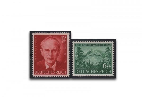 Deutsches Reich Mi.Nr. 855/856 postfrisch 100. Geb. Rosegger
