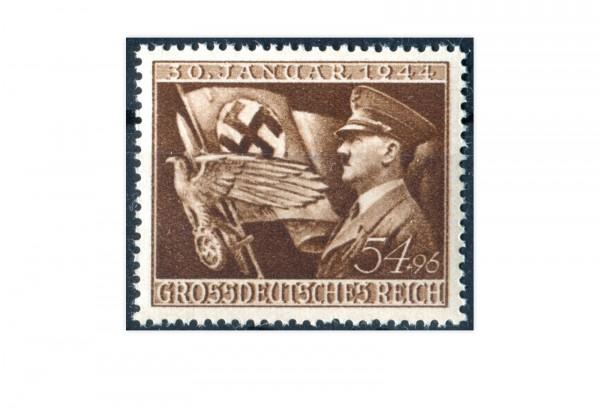 Briefmarke Deutsches Reich Jahrestag der Machtergreifung 1944 Michel-Nr. 865 postfrisch