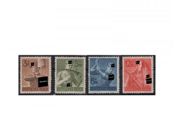 Deutsches Reich Mi.Nr. 850-53 **