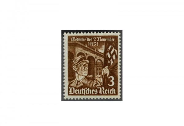 Briefmarke Deutsches Reich 1935 Feldernhalle Michel-Nr. 598 y postfrisch waagerechte Riffelung