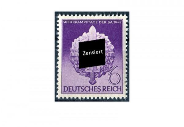 Briefmarke Deutsches Reich 1942 Michel-Nr. 818 postfrisch