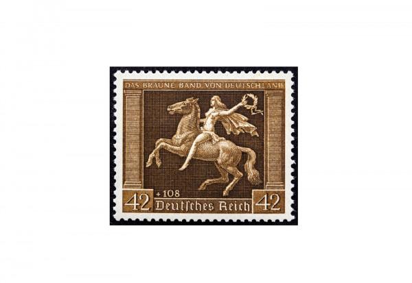Briefmarke Deutsches Reich 1938 Michel Nr. 671 x postfrisch senkrechte Gummierung