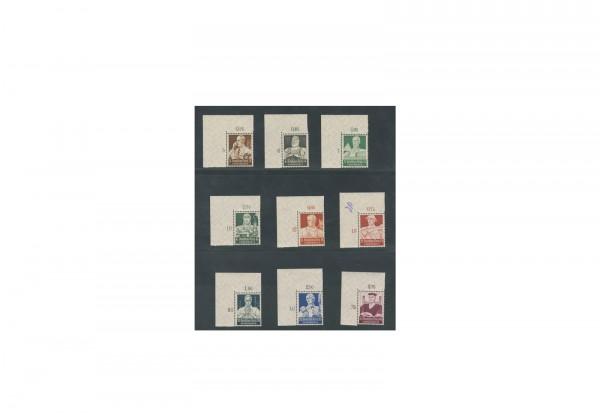 Briefmarken Deutsches Reich Berufsstände 1934 Michel-Nr. 556/64 gestempelt