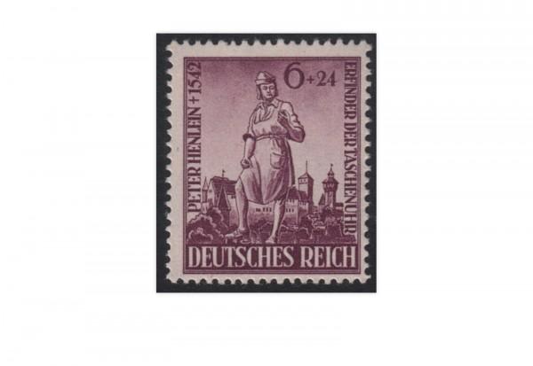 Briefmarke Deutsches Reich 400. Todestag von Peter Henlein 1942 Michel-Nr. 819 postfrisch