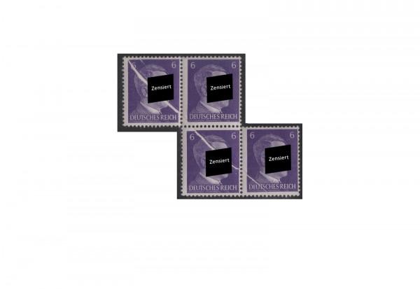 Deutsches Reich Michel-Nr. 785 (F) versetzter Viererblock postfrisch