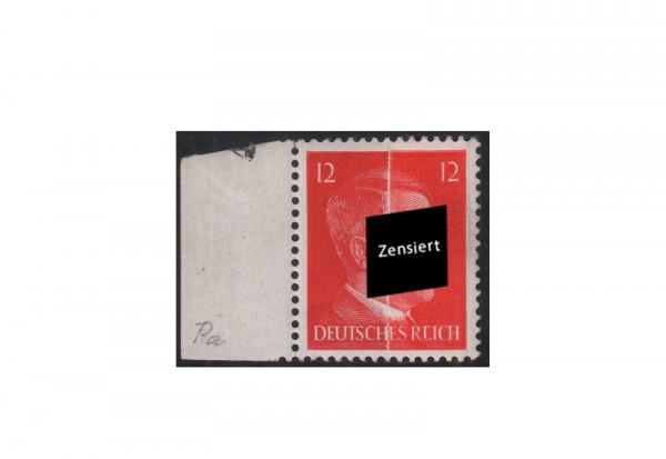 Deutsches Reich Freimarke Hitler 1942 Michel-Nr. 827 Pa postfrisch Papierbahn