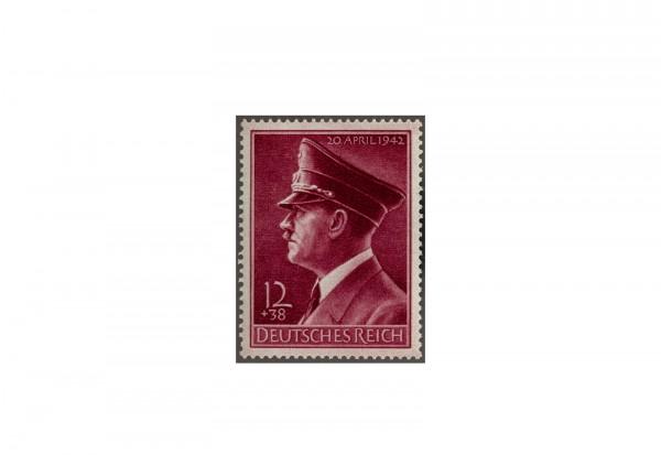 Briefmarke Deutsches Reich 1942 Michel-Nr. 813 x postfrisch senkrechte Riffelung