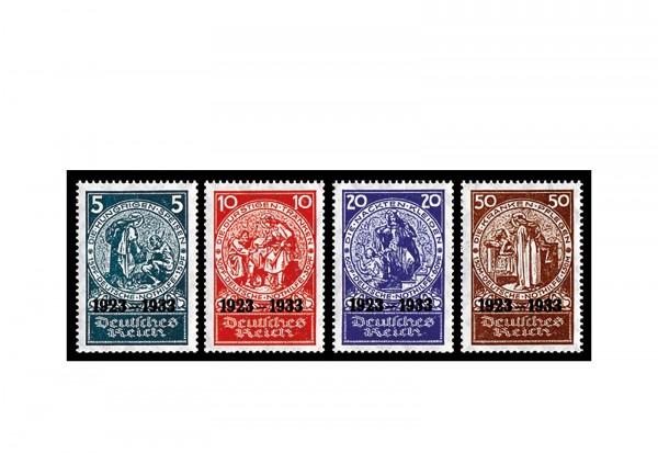 Briefmarke Deutsches Reich Deutsche Nothilfe 1933 Michel-Nr. 508/511 postfrisch